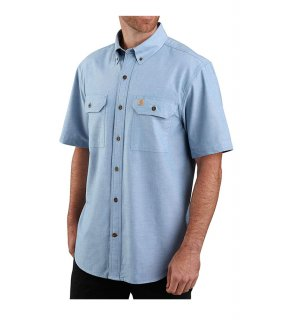Carhartt® Original Fit Midweight Short Sleeve Button Front Shirt