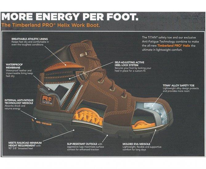 74fcf282b8f Timberland PRO® 6 Helix Alloy Toe - Waterproof [85594] - $169.99 ...