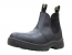 Work Zone® 660 Leather Elastic Pull-On Soft Toe Work Boot