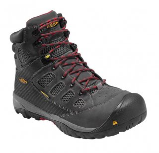 KEEN® Tucson Mid Steel Toe Work Boot - Waterproof
