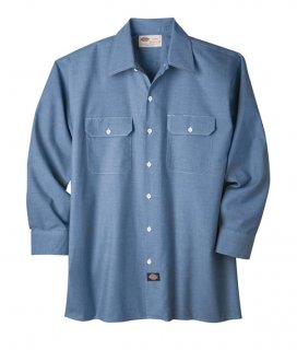 Dickies Long Sleeve Chambray Shirt