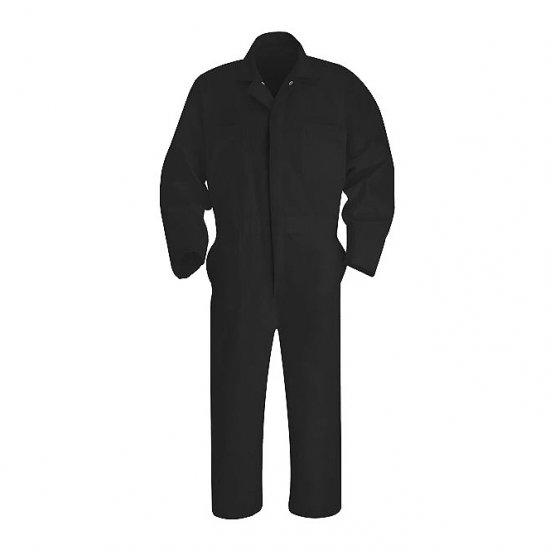 Red Kap Twill Action Back Coverall - Click Image to Close