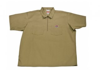 Ben Davis® Short Sleeve Solid ½ Zip Shirt