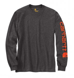 Carhartt® Long Sleeve Graphic Logo T-Shirt