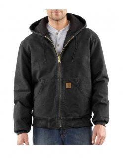 Carhartt® Flannel-Lined Sandstone Active Jacket