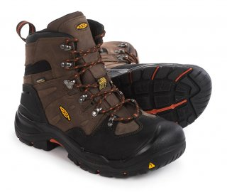 "KEEN® 6"" Coburg Utility Steel Toe Work Boot - Waterproof"