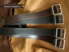 "Marc Wolf 1.75"" Basket Weave Garrison Belt"