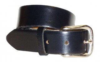 "PM Belts USA 1.25"" Oil Tan Solid Leather Belt"