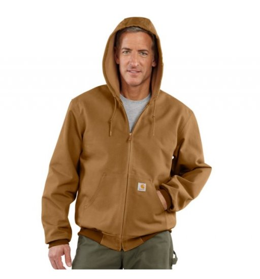Carhartt® Thermal-Lined Duck Active Jacket - Click Image to Close