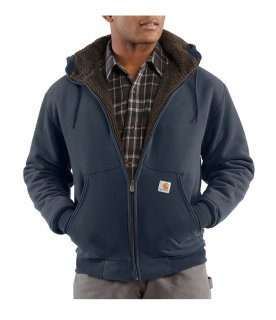 Carhartt® Collinston Brushed Fleece Sherpa-Lined Sweatshirt