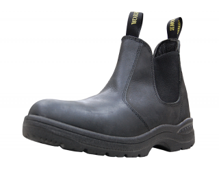 Work Zone® 660 Leather Elastic Pull-On Boot