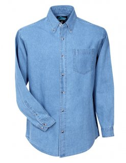 Tri-Mountain Trekker Denim Shirt