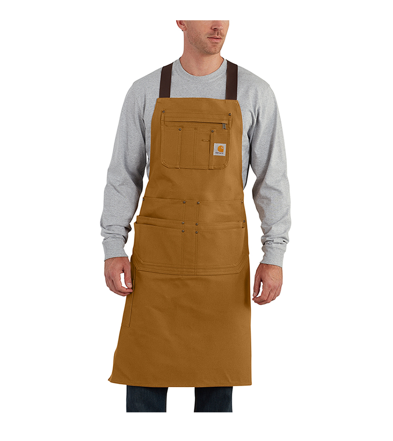 Carhartt® Firm Hand Duck Apron - Click Image to Close