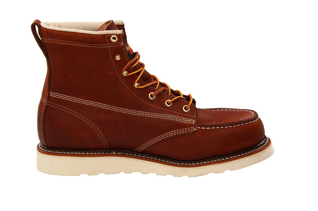 8ec3fc032a9 Thorogood® 6 American Heritage Moc Steel Toe Work Boot [804-4200 ...