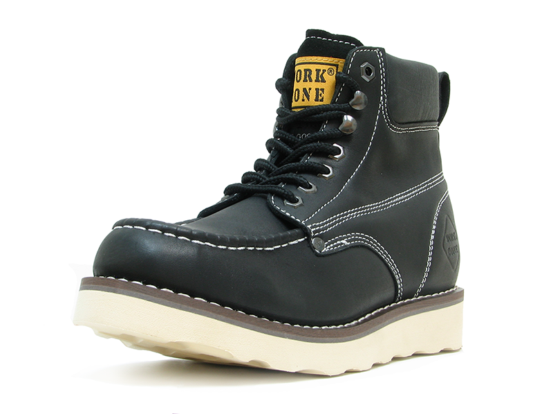 Work Zone® 633 Moc Toe Wedge Work Boot [N633] - $64.99 ...